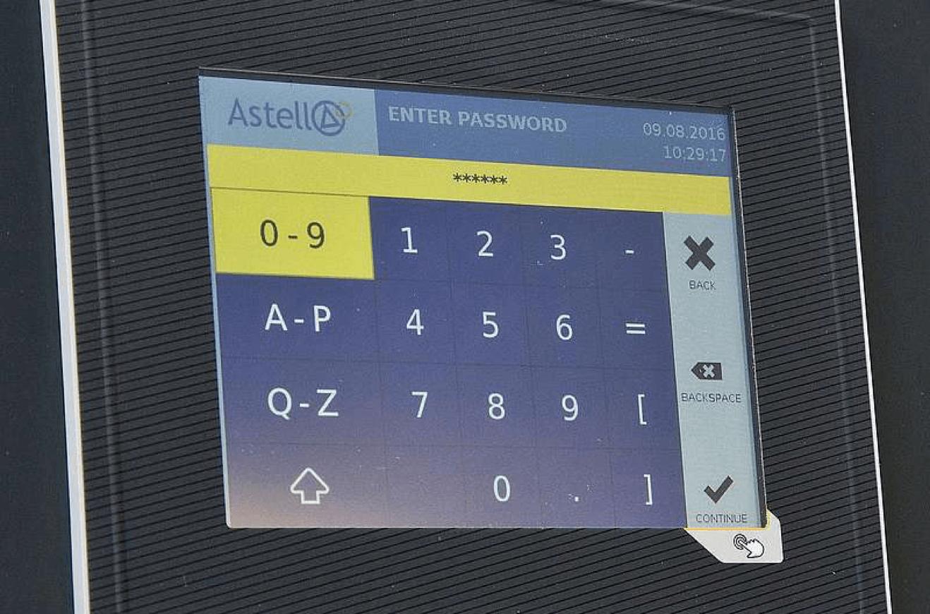 Astell Touchscreen Controller